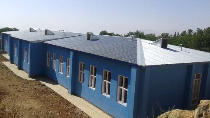 AIRO Constructed of Girls school in Paghman District